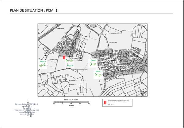Maison nezrouge permis de construire plan de for Plan situation permis