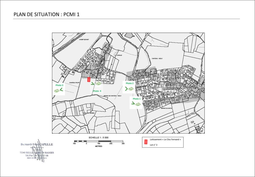 Maison nezrouge permis de construire plan de for Plan de situation pour permis de construire